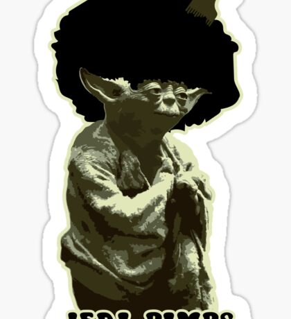 Yoda Jedi Pimps Sticker