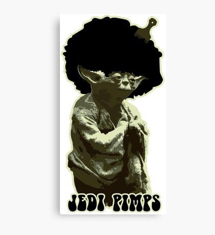 Yoda Jedi Pimps Canvas Print