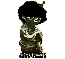 Yoda Jedi Pimps Photographic Print