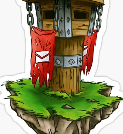 Horde mailbox Sticker