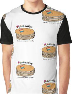 Pan-cakes! Graphic T-Shirt