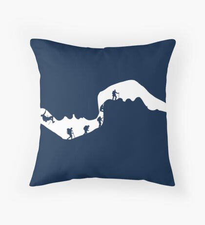 Speleology of Love Throw Pillow