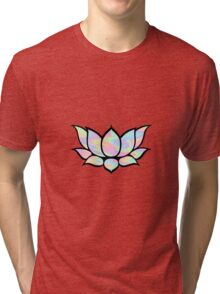 Lotus Trippy Cute Tri-blend T-Shirt