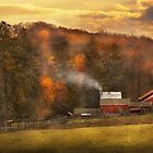 Autumn - Farm - Morristown, NJ - Charming farming by Mike  Savad