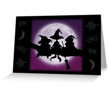 WHICH WITCH IS WHICH? Greeting Card