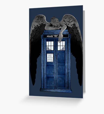 Weeping For The Doctor Greeting Card