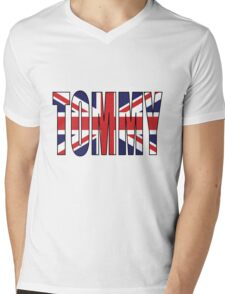 Tommy (UK) Mens V-Neck T-Shirt