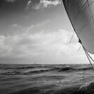 North Sea close to Oostende (Belgium). by M. van Oostrum