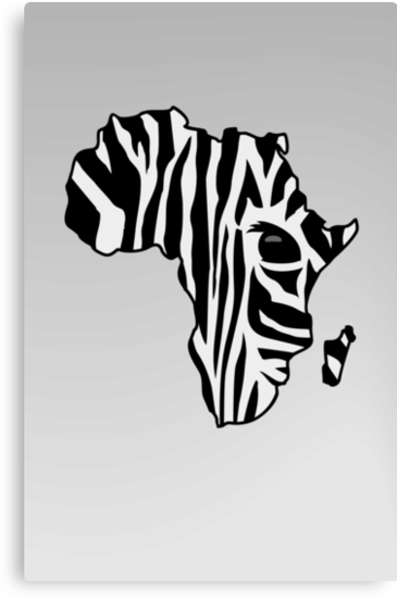Zebra striped Africa by vivendulies