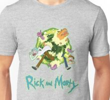 Rick and Morty (BLACK) Unisex T-Shirt