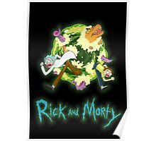 Rick and Morty (BLACK) Poster
