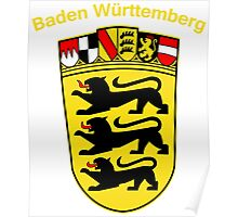 Baden Wurttemberg Coat Of Arms Poster