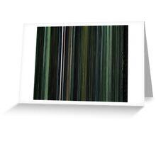 The Matrix Greeting Card