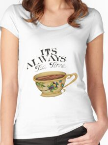 Teatime! Women's Fitted Scoop T-Shirt