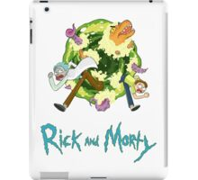 Rick and Morty (WHITE) iPad Case/Skin