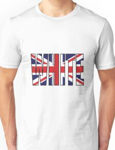White (UK) Unisex T-Shirt