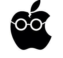 Harry Potter apple logo  by Kzduniak