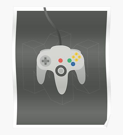 Nintendo 64 Controller Poster Poster