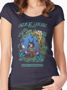 Angry Aurin Hard Cider Women's Fitted Scoop T-Shirt