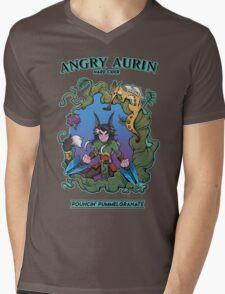 Angry Aurin Hard Cider Mens V-Neck T-Shirt
