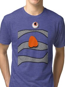 Orange ornamental fish cartoons Tri-blend T-Shirt