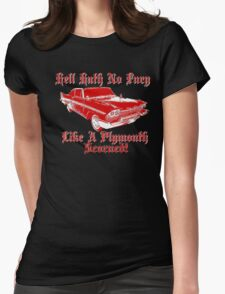 Hell Hath No Fury Womens Fitted T-Shirt