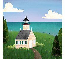 Michigan Lighthouse Photographic Print