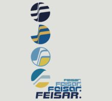 Feisar Team Logo Chronology by Tgarncarz