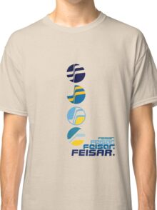 Feisar Team Logo Chronology Classic T-Shirt