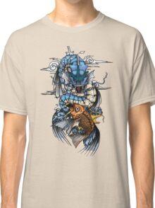 POKEMON - Magikarp evolves into Gyarados! - Japanese Tattoo Style Classic T-Shirt