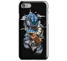 POKEMON - Magikarp evolves into Gyarados! - Japanese Tattoo Style iPhone Case/Skin