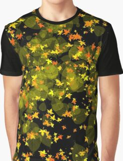 Leaves of Autumn Graphic T-Shirt