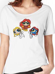 Sisterhood of Evil Puffs Women's Relaxed Fit T-Shirt
