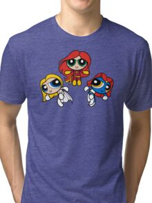 Sisterhood of Evil Puffs Tri-blend T-Shirt