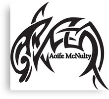 Aoife McNulty Logo Canvas Print