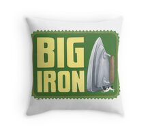 Big Iron Throw Pillow