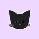 Theo Cat Head - Purple by Chopsy28