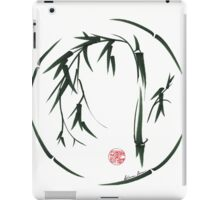 VISIONARY Original sumi-e enso ink brush wash painting iPad Case/Skin