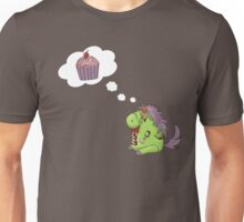 Zombie Unicorn Dreaming of Sweet Brain Food Unisex T-Shirt