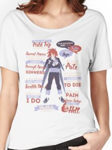 Kratos Aurion Quotes Women's Relaxed Fit T-Shirt