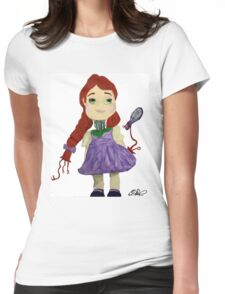 Dolly the Android Womens Fitted T-Shirt