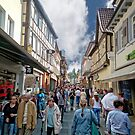 Shopping Street in Neustadt/Germany by globeboater