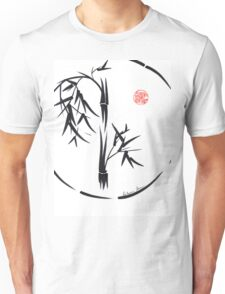 PASSAGE  - Original sumi-e enso ink brush art Unisex T-Shirt