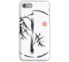 PASSAGE  - Original sumi-e enso ink brush art iPhone Case/Skin