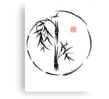 PASSAGE  - Original sumi-e enso ink brush art Metal Print