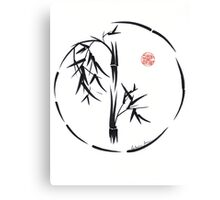 PASSAGE  - Original sumi-e enso ink brush art Canvas Print