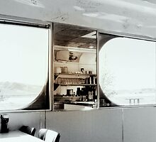 Inside Penny's Diner...Rock Springs, Wyoming by Diane Arndt