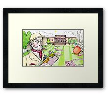 Colonel Mustard, Nelson-Atkins Museum of Art, Bacon Framed Print