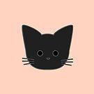 Theo Cat Head - Peach by Chopsy28