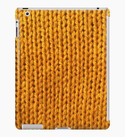 Yellow Knit iPad Case/Skin
